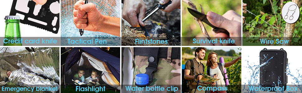 Why Choose Us? What's The Different With Other Survival Gear?