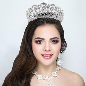 Frcolor Tiara Crowns8