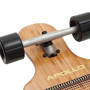Apollo long board skateboard longboards adults bamboo wooden deck cruiser