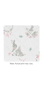 Blush Pink and Grey Woodland Boho Dream Catcher Arrow Fabric Memory Memo Photo Bulletin Board