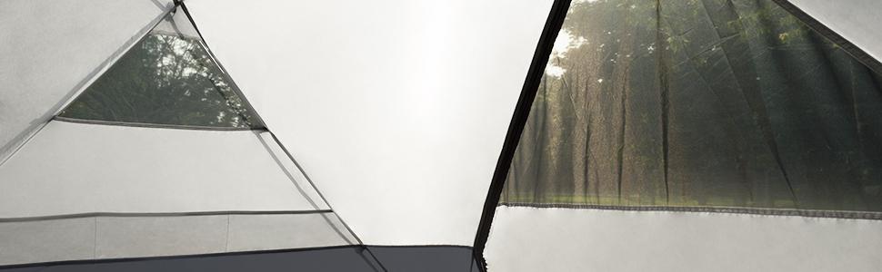 Tent mesh