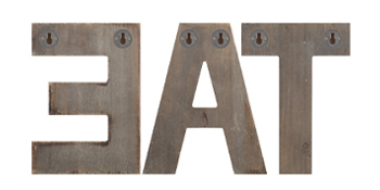 eat decorative signs wall mounted
