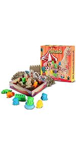 CoolSand Play Sand Circus 3D Sandbox Kit