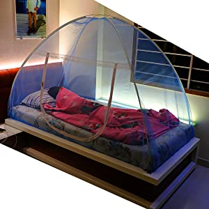 Mosquito Net for Single Size Bed 4X6.5