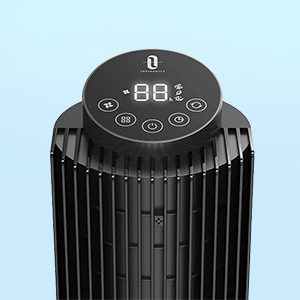 TaoTronics Tower Fan for home & office,Height Adjustable,90° Oscillating,Sleep Mode,Remote,12H Timer