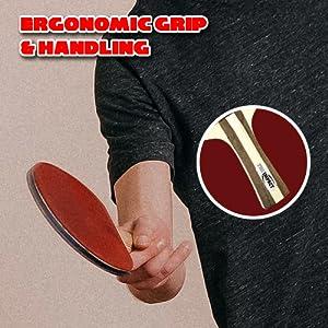 Ergonomic Grip & Handling