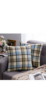 buffalo check plaid pillows farmhouse classic