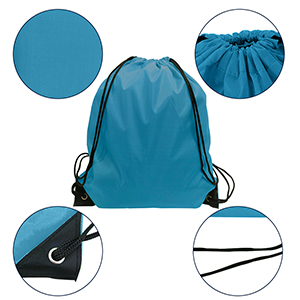 Blue Drawstrings Sports Knapsack Blue Butterfly with Floral Printed Kid Girls School String Bags Cinch Gym Bag STUOARTE Women Fashion Drawstring Backpack
