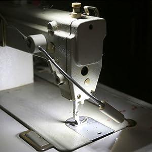 Lixada 1PC/ 2PCS 1W 20LED Máquina de Coser Lámpara de Luz Base ...