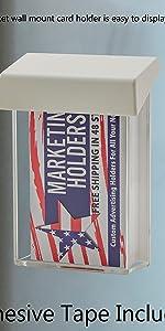 Marketing Holders Outdoor Business Card Holder Advert Vertical
