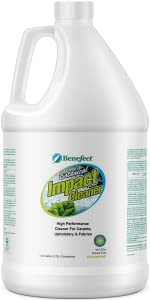 benefect natural botanical carpet upholstery fabric cleaner