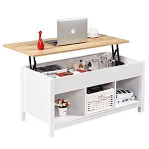 Lift Top Coffee Table White
