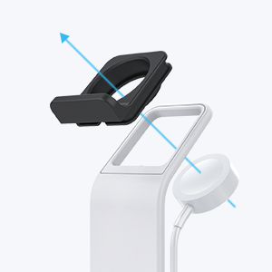 charging dock for iphone and apple watch and airpods