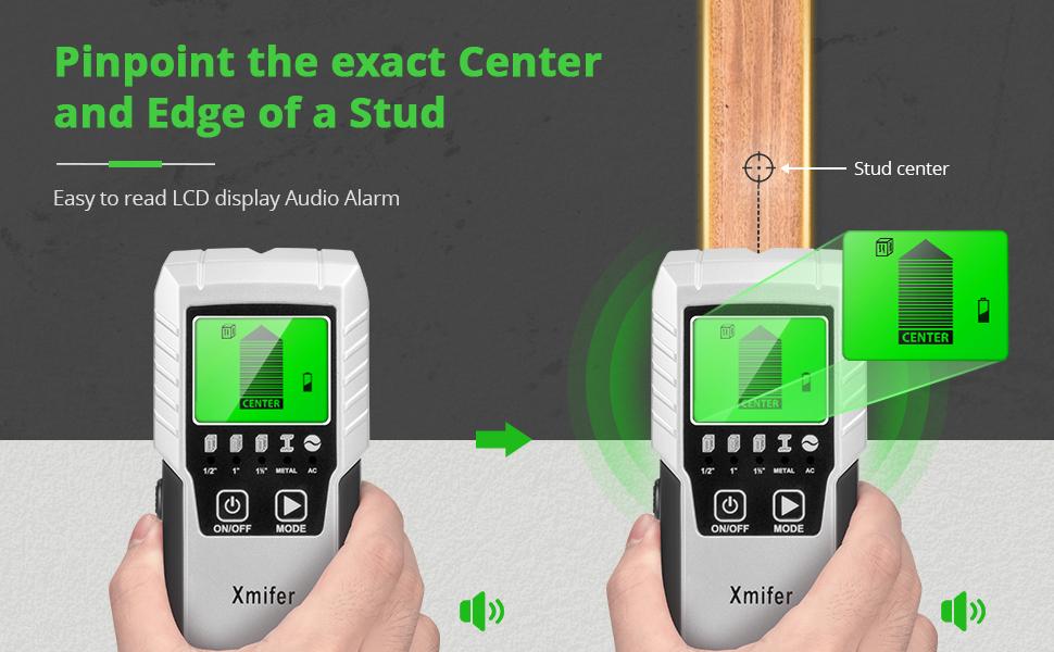 Wand Stud Scanner Zentrum Finder Erkennung LCD Display für Dekorieren Haus