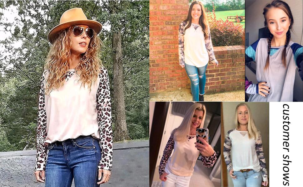fall clothes for women plus size long sleeve t shirt women cotton tunic tops for leggings for women