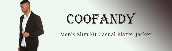 Men's Slim Fit Wool Blazer Jacket