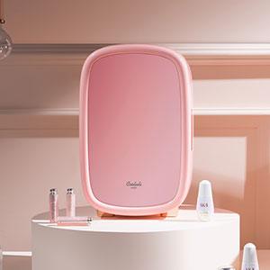 cooluli beauty 12L 12-liter skincare cosmetics make-up mini-fridge portable 50 degrees