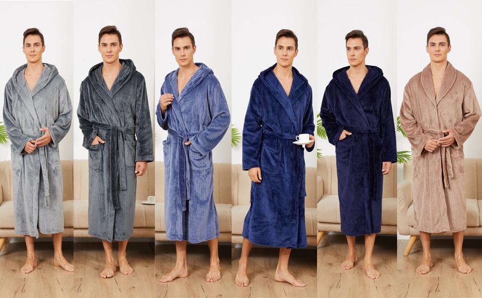 bathrobe for men plush