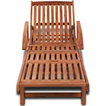 Both Side Adjustable Outdoor Poly Rattan Lounge Sun Bed