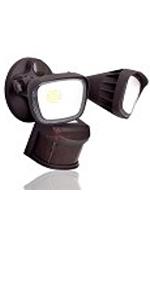 LED Motion Sensor Flood Light - White - 2400 Lumen - 270 Degree Sensor -