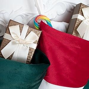christmas stocking velvet 12