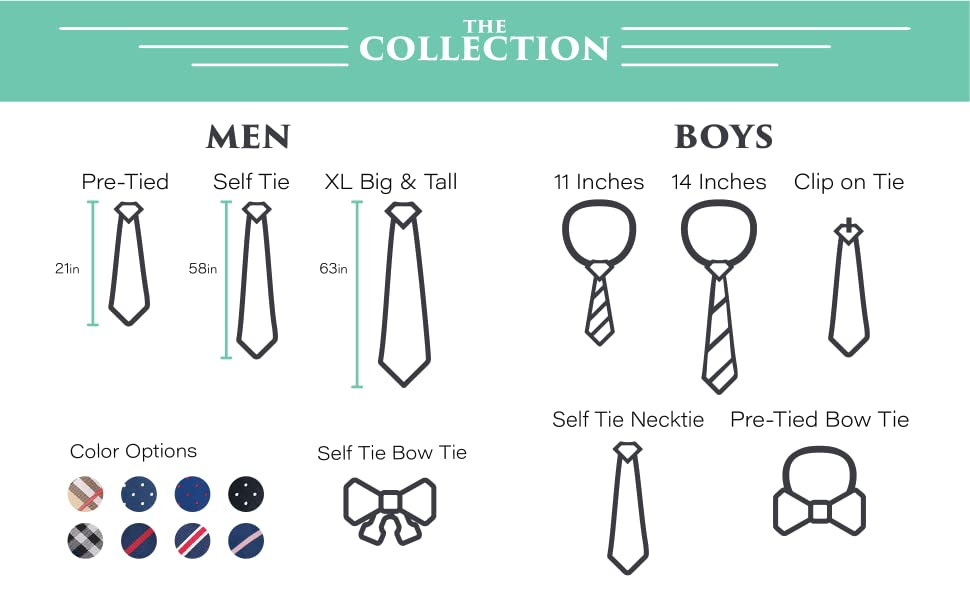 the collection: mens + boys