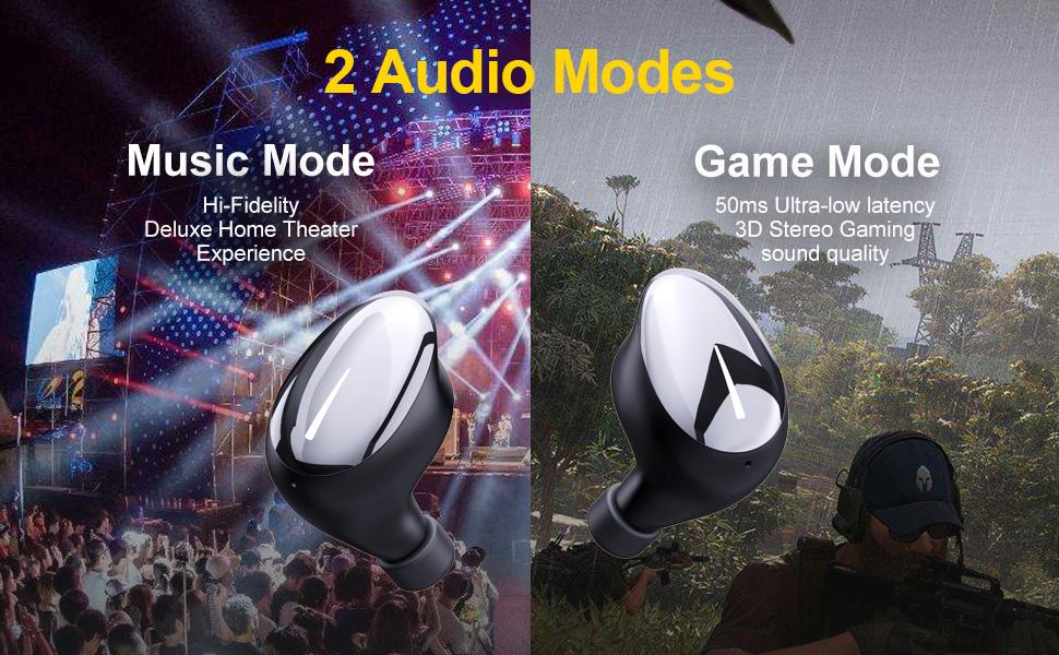 wireless bluetooth5.0 earbuds