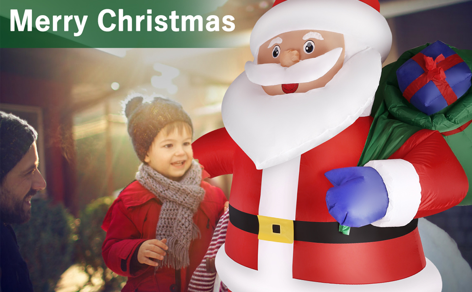 christmas inflatables outdoor decorations