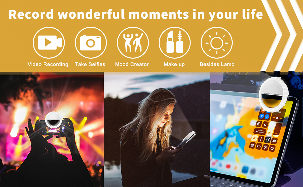 Record wonderful moments in your life