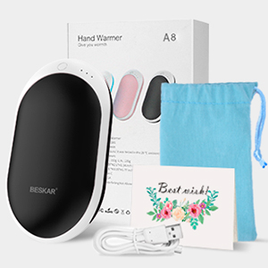Hand Warmer Rechargeable USB Electric Hand Warmers Portable Pocket Hand Warmers Reusable Hand Warmer