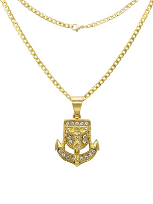 lion pendant set