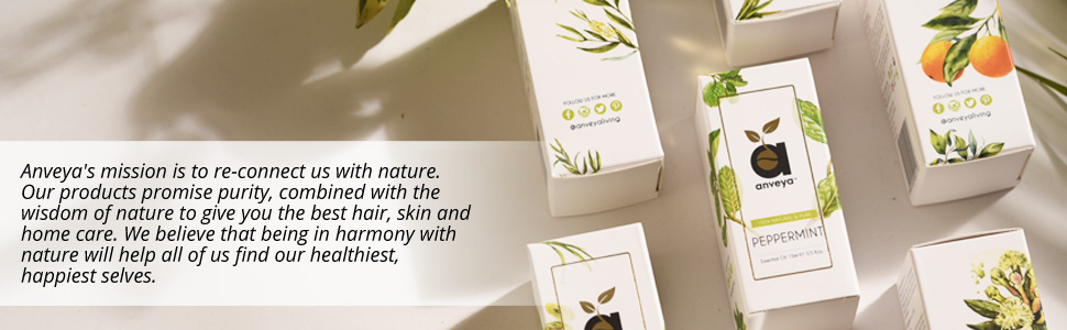 Pure Natural Organic Cold Pressed & Essential Oils, Beauty, Face, Skin and Hair Products from Anveya