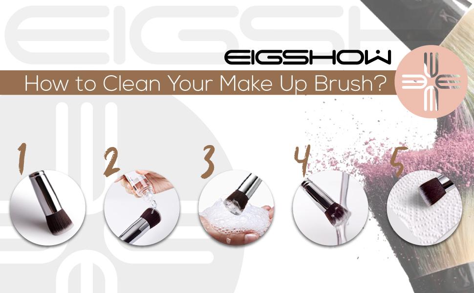 Lip Brush EIGSHOW Lipstick Makeup Brush Pro Precision Thin Angle Brush