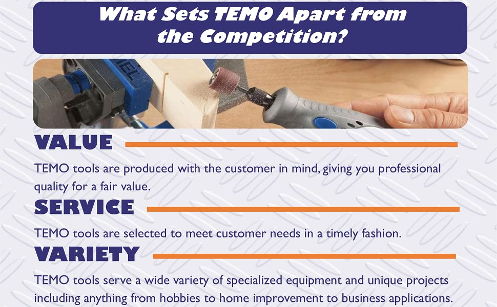 TEMO Brand Qualities