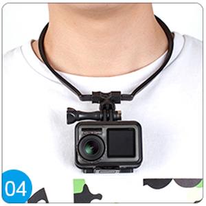 Soporte para el cuello de la cámara