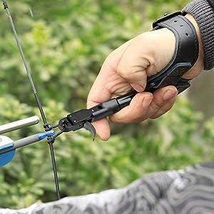 Portable Archery Compound Bow Release