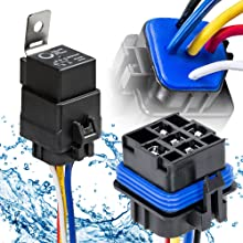 40/30A 5-Pin Waterproof Relay Kit