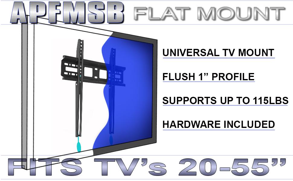 FLAT TV MOUNT WALLMOUNT