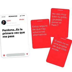 GUATAFAC OMAIGOD Juego de Mesa - Juego de Cartas para Fiestas y Risas – Edición Español: Amazon.es: Juguetes y juegos