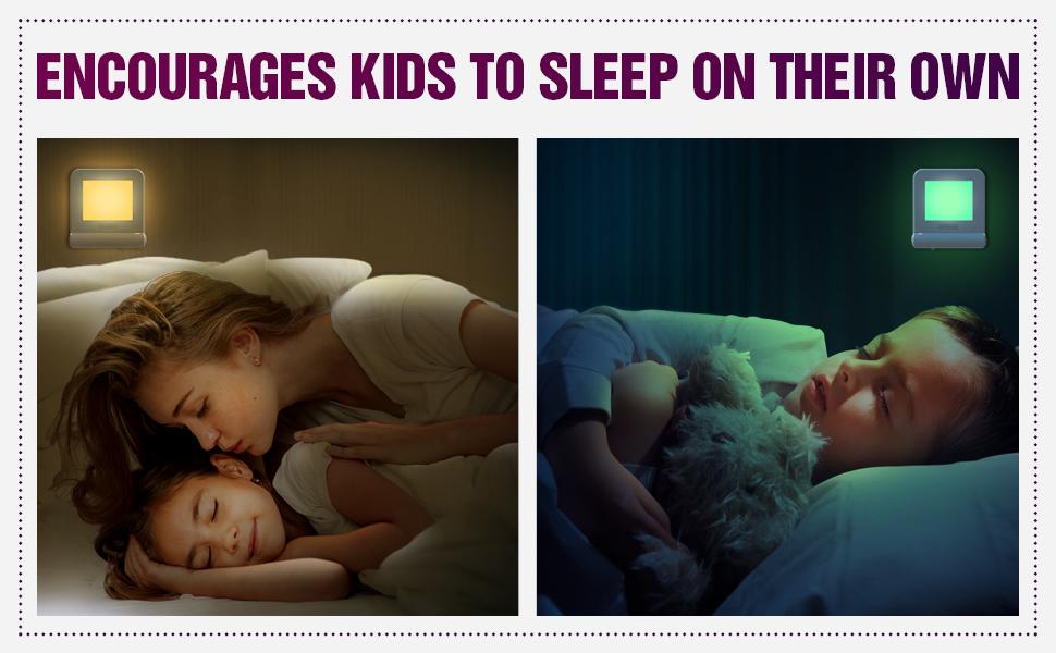 night light lights kids plug bedroom nightlight led girls wall color baby sensor boys child adult