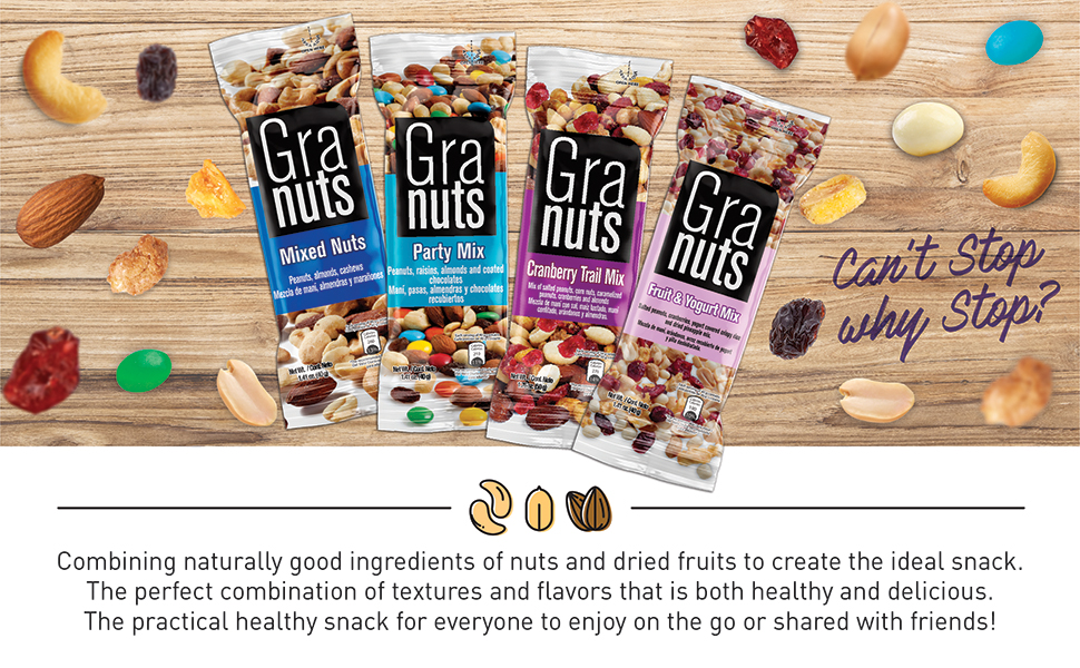 Nuts, Flavored, Trail Mix, Snack, Healthy, Party, Shareable, Portable, To-Go, Family Size, Salted
