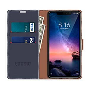 COODIO Funda Xiaomi Redmi Note 6 Pro con Tapa, Funda Movil Xiaomi ...