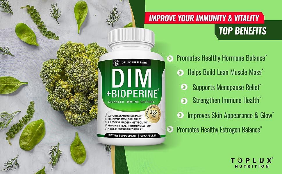 toplux supplement plus dim menopause