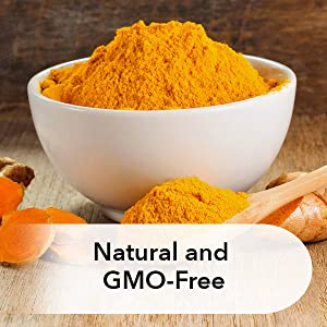 natural turmeric non-GMO extract