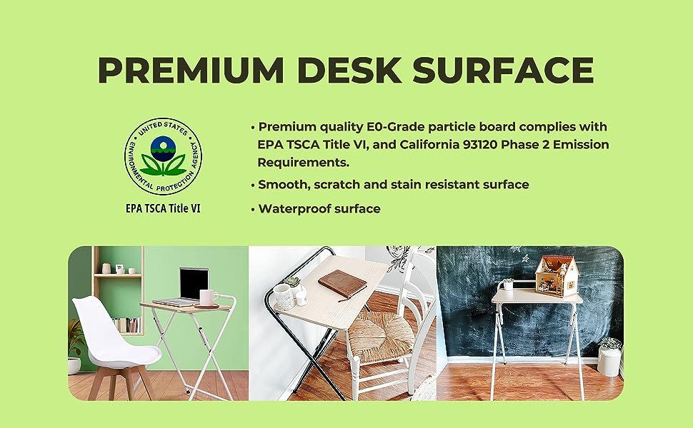 SOFSYS Folding Desk - Premium Desk Surface