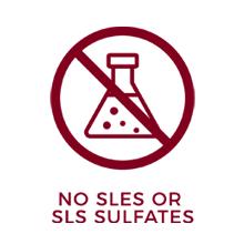 symbol for no sulfates