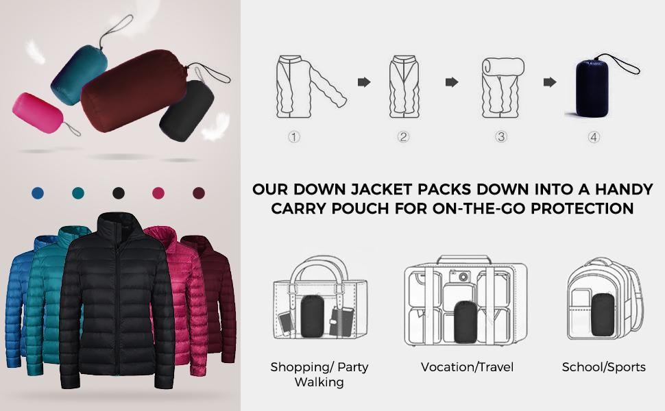 Women's Packable Down Jacket