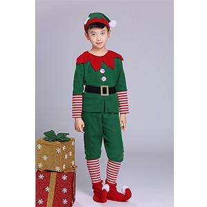 Xingsiyue Disfraz de Elfo para Navidad, Halloween Carnaval Cosplay ...