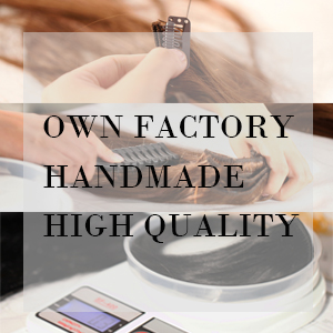 HAIRRO has own factory to ensure high quality