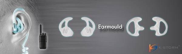 earpiece earmold